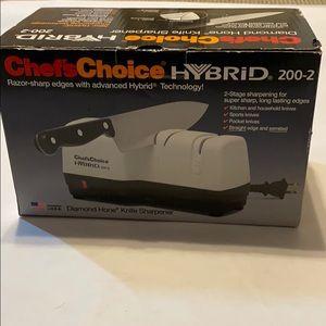 Chef's Choice Hybrid 2-stage knife Sharpener EUC